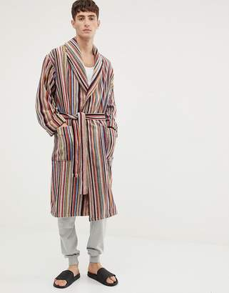 Paul Smith classic stripe robe