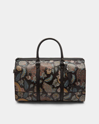 Ted Baker CASPEE Printed leather holdall