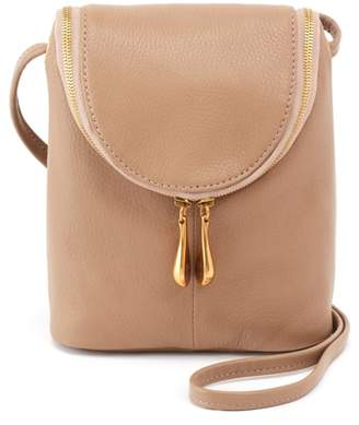 Hobo Fern Calfskin Leather Saddle Bag
