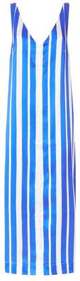 Mother of Pearl Maisie Striped V-Neck Dress