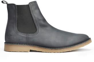 Makia Black Chelsea Boot - UK10/EU44 - Black/Leather