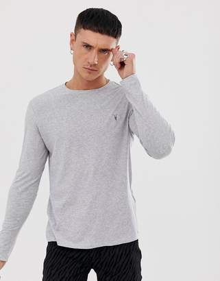 AllSaints Long Sleeve Top With Logo
