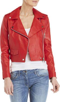 Walter Baker Leather Moto Jacket