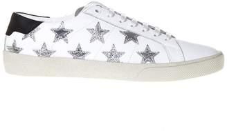Saint Laurent Signature California Leather Sneakers