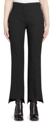 Alexander McQueen Tuxedo Kickback Trousers
