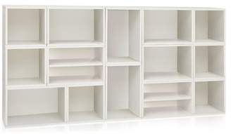 Way Basics Eco Rome Modular Stackable Storage System, Non Toxic Z-Board