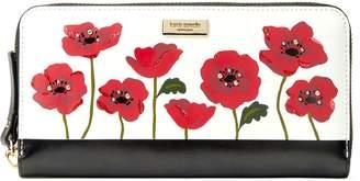 Kate Spade new york Women's Ooh La La Poppy Neda Leather Wallet