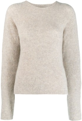 Off-White woman ribbed crew neck jumper