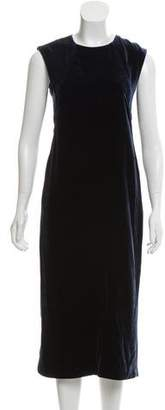 Elizabeth and James Velvet Midi Dress w/ Tags