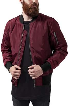 Urban Classics Mens Bomber Jacket TB1446 2-Tone Bomber Jacket Color: in Size: