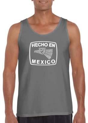 Pop Culture Los Angeles Pop Art Big Men's Tank Top - Hecho En Mexico