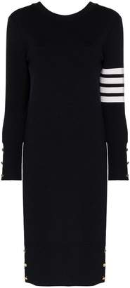 Thom Browne Reversible Knitted Wool Dress