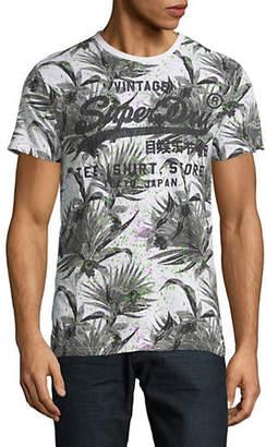Superdry AOP Shirt Shop Graphic T-Shirt