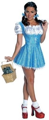 Rubie's Costume Co Costume Secret Wishes Women's Wizard of Oz Sequin Dorothy