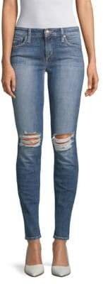 Joe's Jeans The Icon Distressed Mid-Rise Skinny Jeans