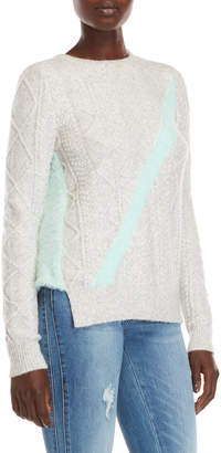 Desigual Piscis Cable Knit Sweater