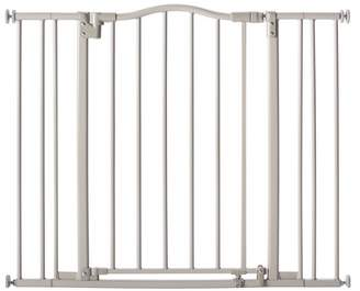 North States Industries Arched Auto Close Baby Gate Gray - 28.25-38.25