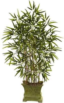 Nearly Natural nearly natural Bamboo Tree Decorative Plant