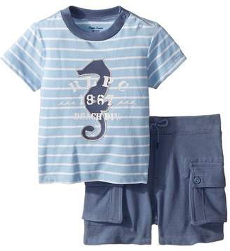 Ralph Lauren Cotton T-Shirt Shorts Set Boy's Active Sets