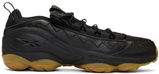 Reebok Classics Black DMX Run 10 Gum Sneakers