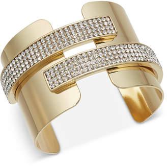 INC International Concepts I.N.C. Pavé Cuff Bracelet, Created for Macy's