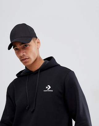 Converse Pullover Logo Hoodie In Black 10008814-A01