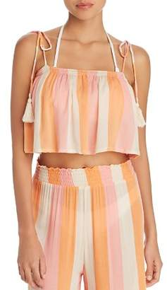 Cool Change Coolchange Ella Crop Top Swim Cover-Up