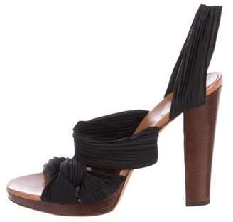 Gucci High Heel Open-Toe Sandals