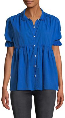 MiH Jeans Ola Shirred Shirt
