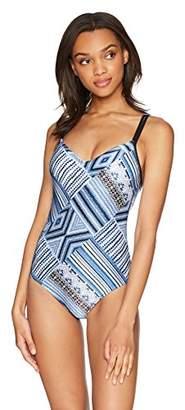 Seafolly Women's Patterned Sweetheart One Piece Swimsuit