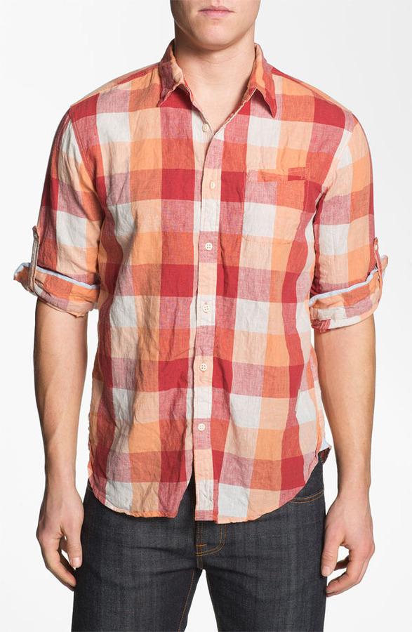 Scotch & Soda Regular Fit Linen Sport Shirt
