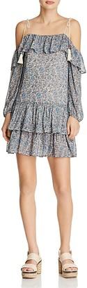 Rebecca Minkoff Dexter Cold-Shoulder Dress $248 thestylecure.com