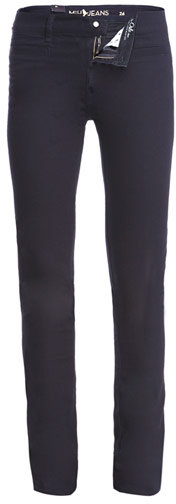 MiH Jeans Oslo mid-rise slim-leg jeans