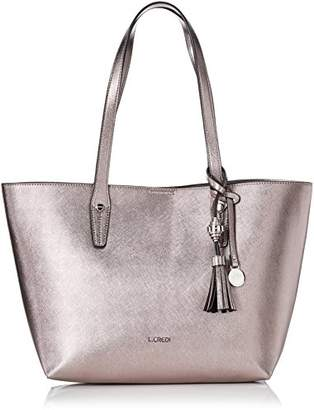 L.Credi Women 309-5567 Shoulder Bag Grey Size: UK