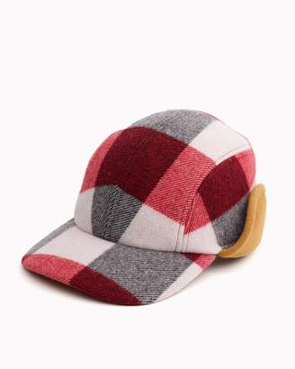 Rag & Bone Plaid pilot cap
