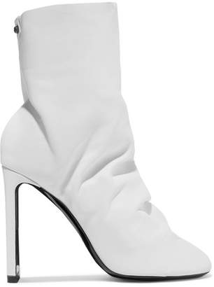 Nicholas Kirkwood D'arcy Leather Ankle Boots - White