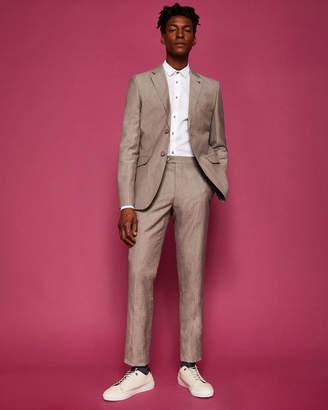 Ted Baker COLMART Slim fit linen suit pants