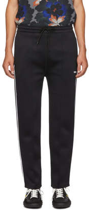 Kenzo Black Drawstring Jog Lounge Sweatpants