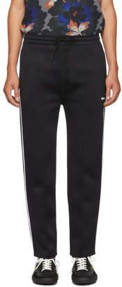Kenzo Black Drawstring Jog Lounge Sweatpants