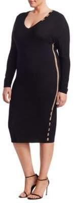 Marina Rinaldi Marina Rinaldi, Plus Size Gazzella Crepe Knit Dress