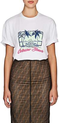 "Fendi Women's ""Colosseo Beach"" Cotton T-Shirt"
