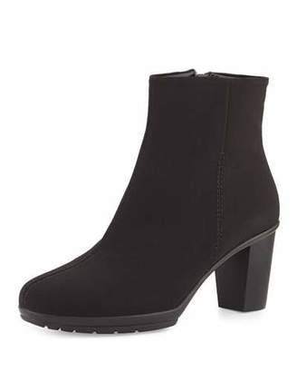 Sesto Meucci Rayna Waterproof Ankle Boot, Black $360 thestylecure.com