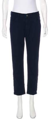 DL1961 High-Rise Straight-Leg Jeans w/ Tags