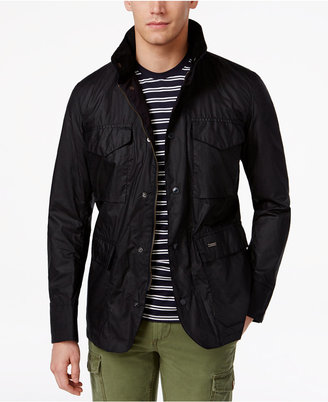 Barbour Men's Waterproof Tailored Sapper Jacket $399 thestylecure.com