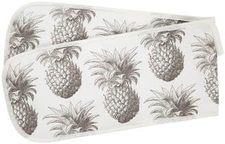 Thornback & Peel - Pineapple Double Oven Gloves - Grey