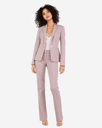 Express Notch Lapel Tweed Blazer