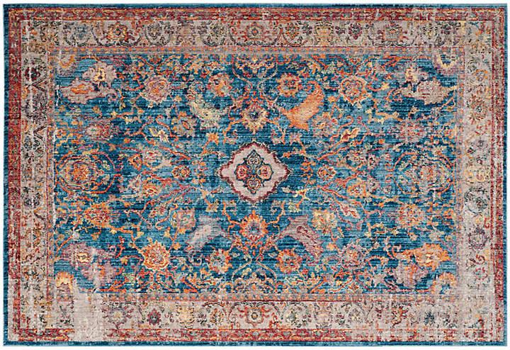 Tolica Rug - Blue/Light Gray - 6'x9'