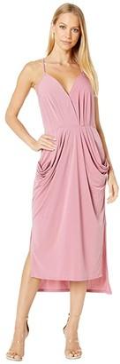 BCBGeneration Drapey Pocket Midi Dress - YDM6169244