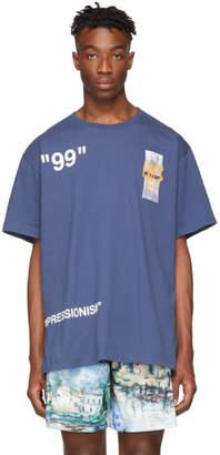 Off-White Blue Summer T-Shirt