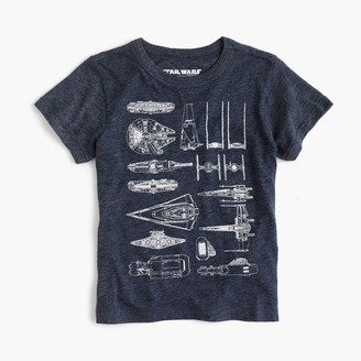 Kids' Star Wars for crewcuts The Force Awakens spaceships T-shirt $34.50 thestylecure.com